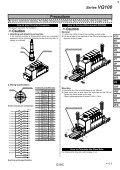 VQ100 High Speed Solenoid Valve - Page 5