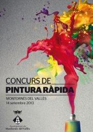 Les bases del Concurs de pintura ràpida en format pdf