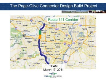 The Page-Olive Connector Design Build Project