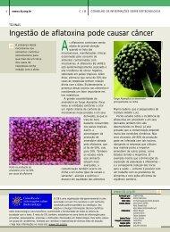 curiosidade sobre aflatoxinas