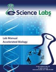 Molecular Biology - eScience Labs