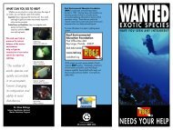 Exotic Species Brochure - Reef