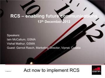RCS - Workcast