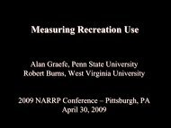 Measuring Recreation Use