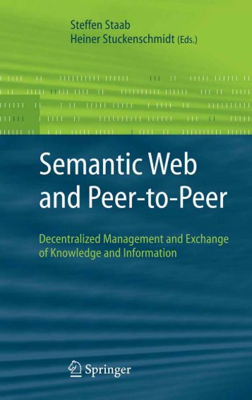 Semantic Web and Peer-to-Peer - Developers