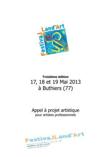 appel à projet 2013 pour artiste professionnels - Portail du Land Art