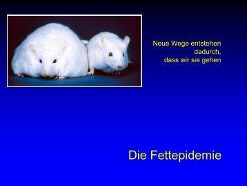 Wir essen immer noch zu fett und - Ever - Dr. med. Jürg Eichhorn