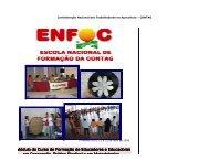 caderno de textos iii modulo curso norte enfoc/2008 - Contag