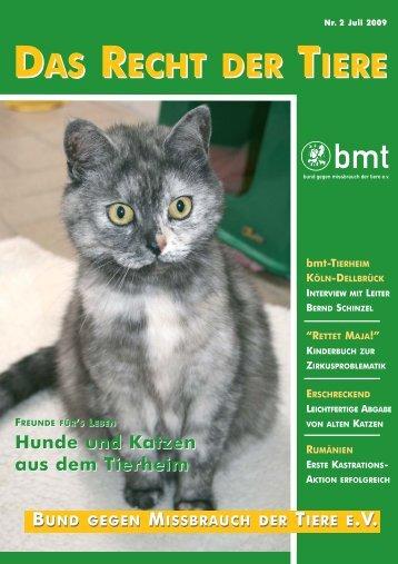 RDT 2/2009 - Bund gegen Missbrauch der Tiere ev