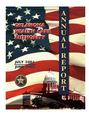 State Fiscal Year 2002 - The Oklahoma Health Care Authority