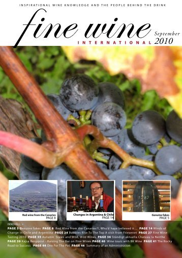 September - Fine wine magazine