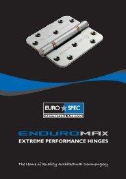 Enduromax Hinge Catalogue - Architectural Hardware Direct