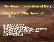 Joel Levine_The Human Exploration of Mars, Why Mars, Why Humans