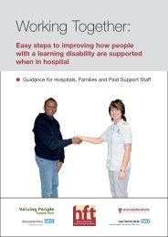 Working Together: - Hillingdon Hospital NHS Trust