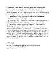 CYP(4)-23-12 Paper 2 - Health Boards, item 8 PDF 2 MB - Senedd ...
