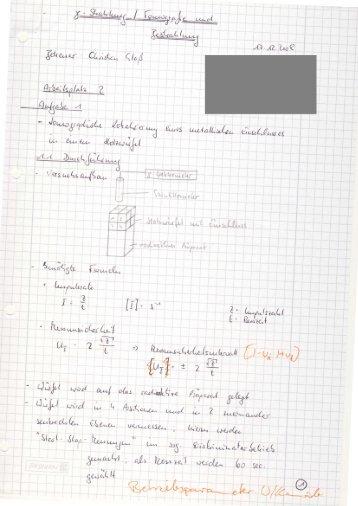 Physikprotokoll - Gammastrahlung - wilmnet.de