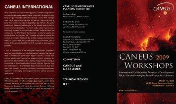 CANEUS 2009 Workshops - Caneus.org