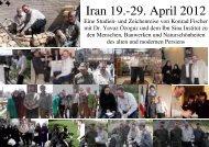 Iran 19.-29. April 2012