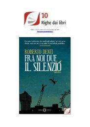 Fra noi due il silenzio 1-88.indd - 10 righe dai libri