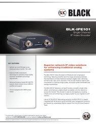 BLK-IPE101 - Supercircuits Inc.