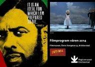 Ladda ner filmprogrammet som pdf - Regionmuseet Kristianstad