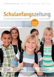 Schulanfangszeitung 2010-2011 - Elternverein des BG/BRG Kufstein