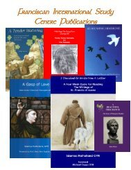 Franciscan International Study Centre Publications - OFM