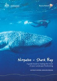 Ningaloo – Shark Bay - Tourism Australia
