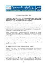 Le tourisme responsable - Cités Unies France