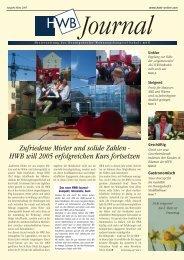 PDF HWB-Journal März 2005 - h e n n i g s d o r f . d e