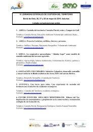 Listado de comunicaciones orales - Fapas