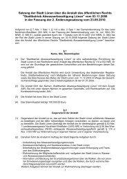 Mustersatzung für Anstalten des öffentlichen Rechts - Stadtbetrieb ...