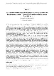 Die Entwicklung Interkultureller Kommunikativer Kompetenz im ...