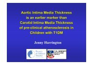 Aortic intima media thicknes, an earlier marker of atherosclerosis in ...