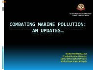 Combating Marine Pollution with The Technology