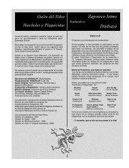 Zapoteco Istmo Diidxazá - Huicholes y Plaguicidas