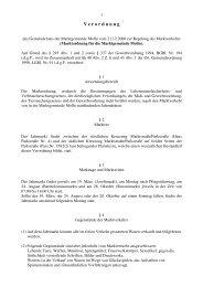 Marktordnung (2006) (31 KB) - .PDF - Molln