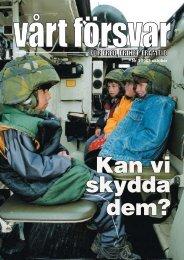 Nr 3/ 2003 Årgång 115 - Allmänna Försvarsföreningen