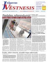 2012.gada 16.februāris Nr.7(243) - Jelgavas Vēstnesis