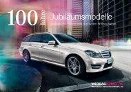 Jubiläumsmodelle - Mercedes-Benz Automobil AG