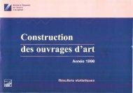 Statistiques Construction OA - Année 1998 - PLATEFORME ...