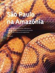 São Paulo na Amazônia _Biodiversidade - Revista Pesquisa FAPESP