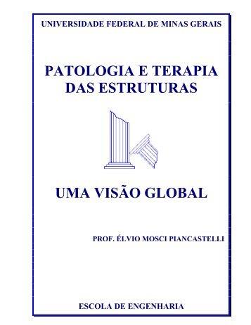 patologia e terapia das estruturas uma visão global - DEMC - UFMG
