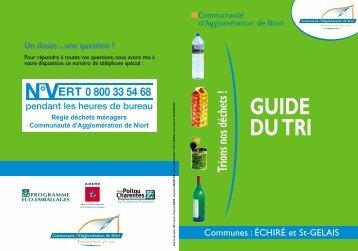 """Guide …chir""""/St-Gelais ok - Communauté d'Agglomération de Niort"""