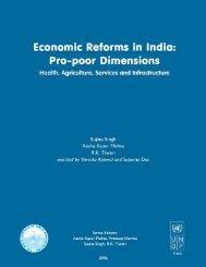 Economic Reforms in India: Pro-poor Dimensions - Indian Institute of ...