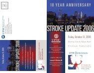 UPMC Stroke Update 2006 - CCEHS
