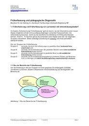Früherfassung und pädagogische Diagnostik - IFM EHB