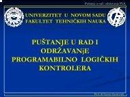 Implementacija I deo PLK, pdf.pdf - Univerzitet u Novom Sadu