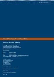 und elektronischen Aufklärung des Bundes - Ziviler Arbeitgeber ...