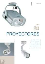 PROYECTORES - Indal